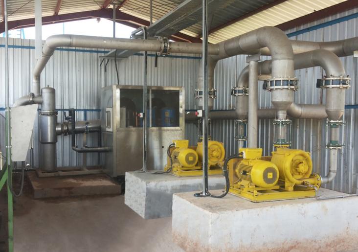 Sopladores para biogas- atex blowers