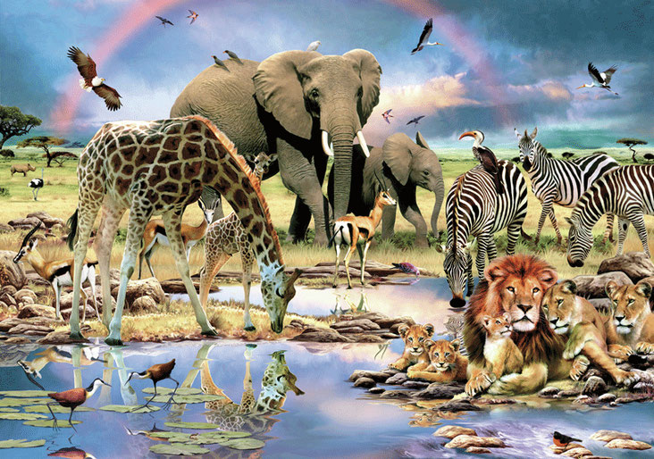 Fotomurale savana africana