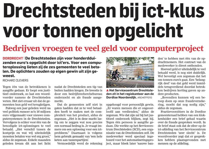 artikel AD inz. ICT fraude