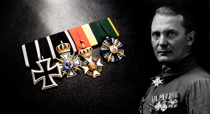Replica of the medal bar of Hermann Göring