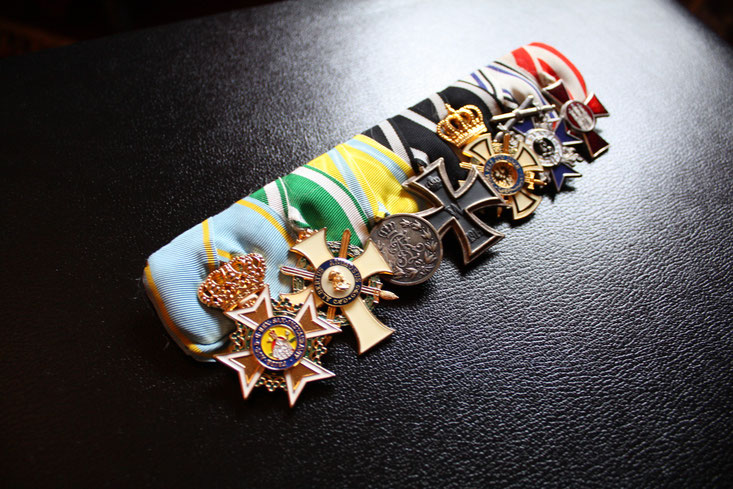 Replica of the medal bar of Max Immelmann