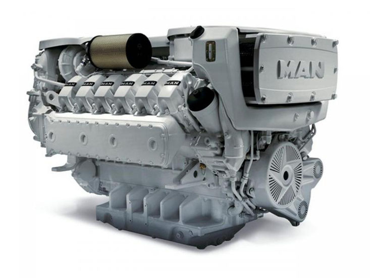 MAN Diesel engine marine manuals