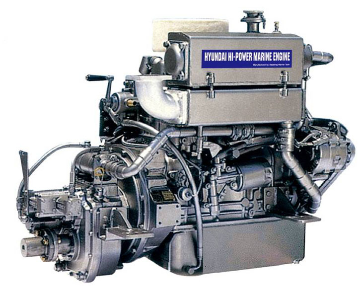 HYUNDAI marine diesel engines manual pdf