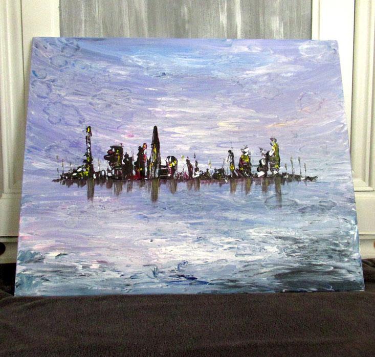 grand-tableau-abstrait-ville-violet-noir-decoration-moderne-original