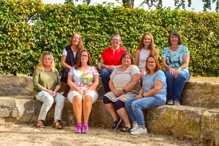 """Das Team des """"Elternverein Betreute Grundschule Ostenland E.V."""" 2020"""