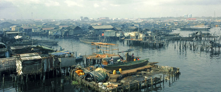 Makoko slum Lagos-Nigeria