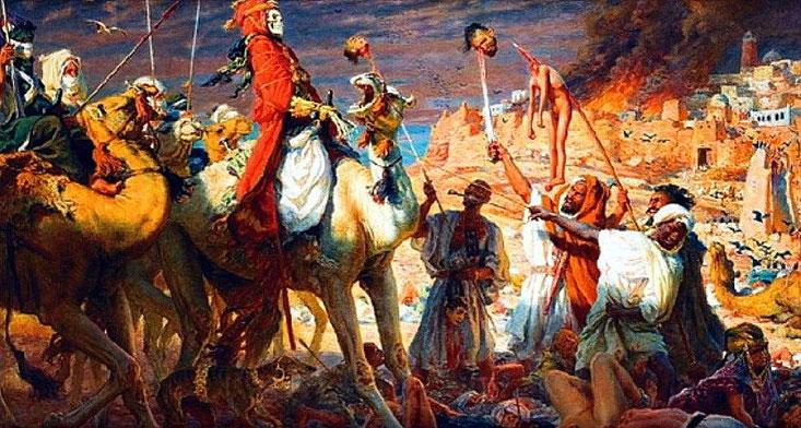 La rivolta degli Zanj in Iraq.