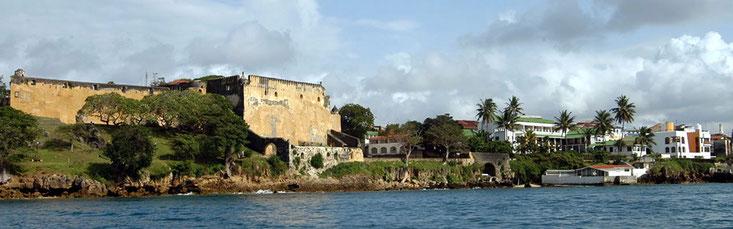 Fort Jesus Mombasa Island, Kenya.