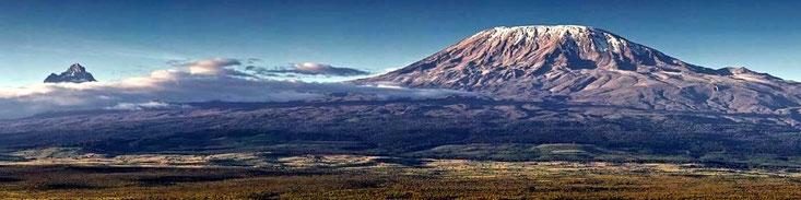 Vista del Kilimanjaro - Vacanze in Kenya