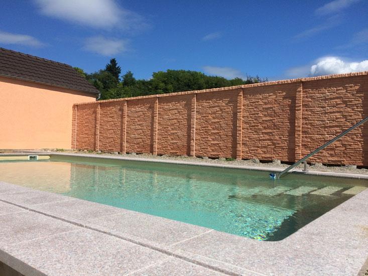 Schwimmb der lorenz bau pool for Poolsanierung mit folie