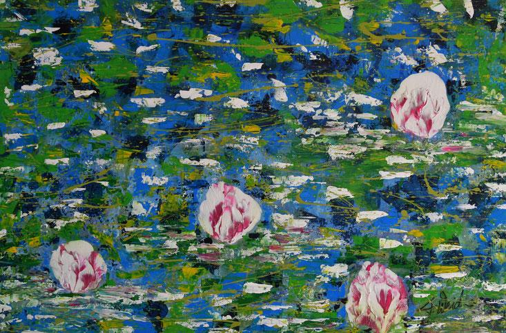 Abstrakte Malerei Florina Weidmann
