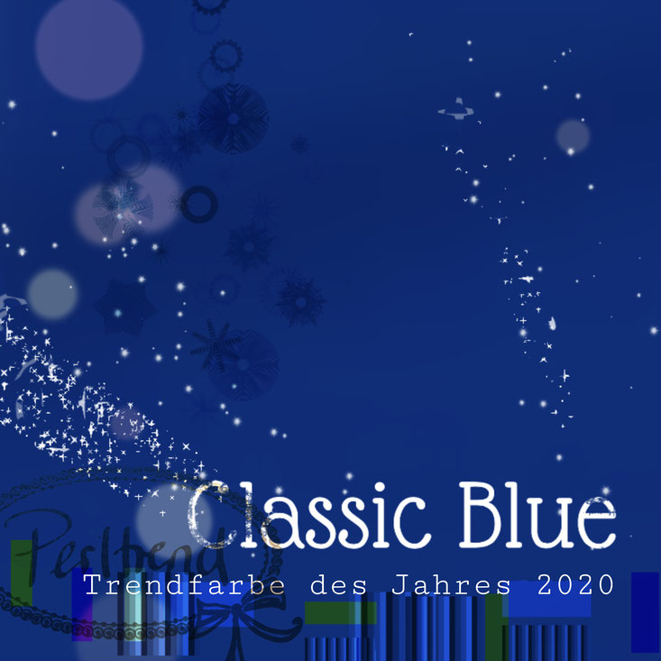 Trendfarbe des Jahres 2020 Classic Blue Perltrend Luzern Fashion Mode Color of the year blau