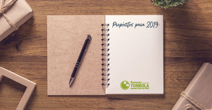 Propósitos saludables para 2019 - Farmacia Tómbola Alicante