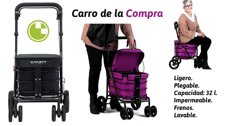 Carros de la compra Lett 700 y Lett 800 - Ortopedia Tómbola Alicante