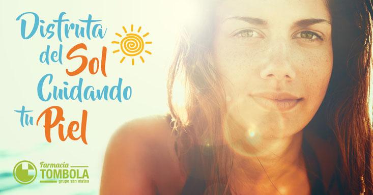 Disfruta del sol cuidando tu piel - Farmacia Tómbola Alicante