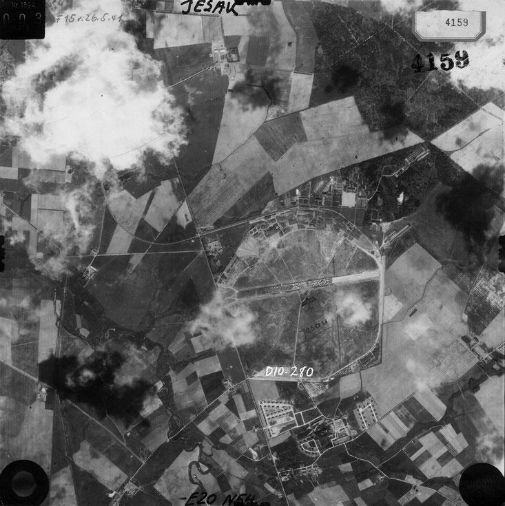 Luftplanbild Jesau