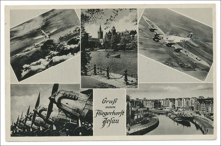 Postkarte um 1940