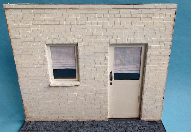 Miniatur-Fassade basteln