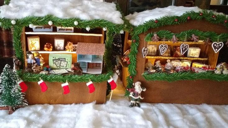 Weihnachtsmarktstände 1:12