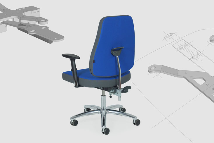 xxl swivel chair, product improvemet of mechanical parts
