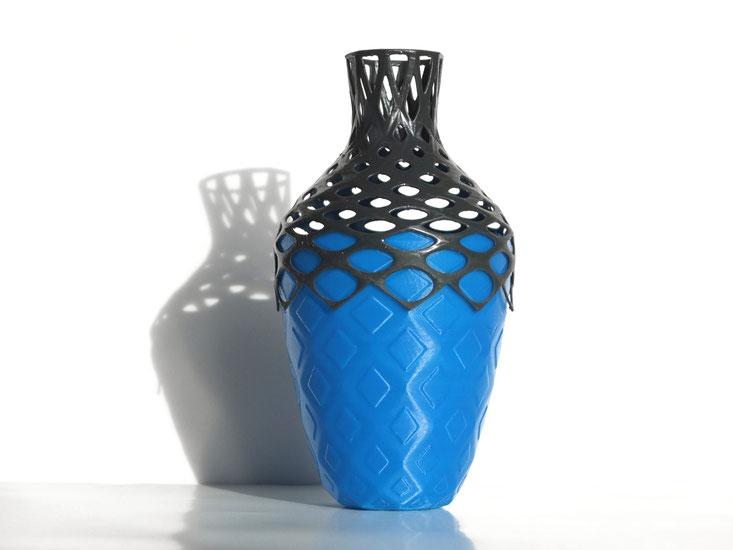 parametric vase - designed in grasshopper - julian sterz