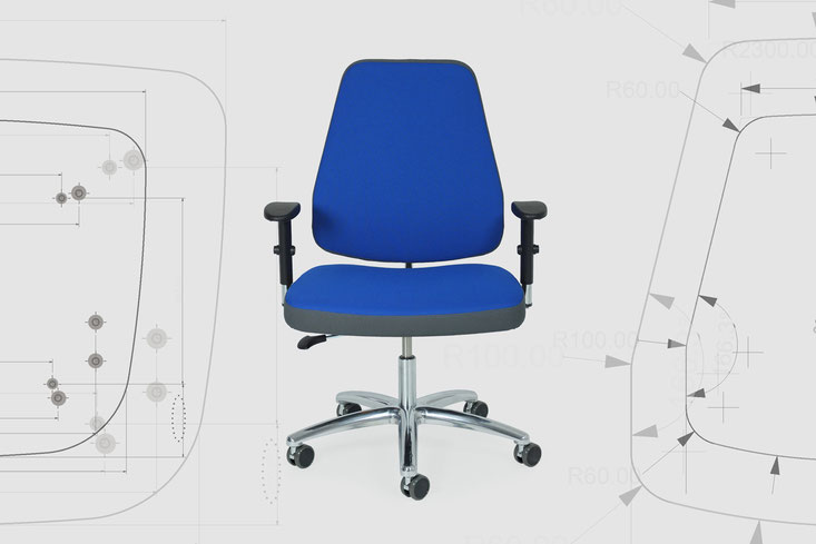 xxl swivel chair, product improvemet of seat and backrest