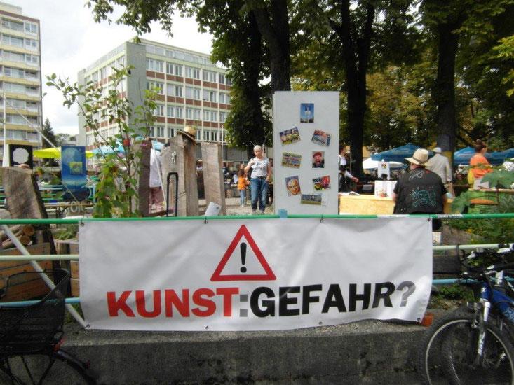 Kunstspitz-Eröffnung , 8. September 2018; Foto: Alex Förster