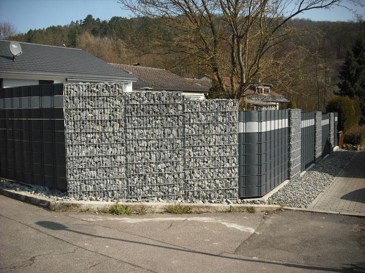 Zaunbau, Zaunbau Mosbach, Zäune, Tore, Gabionen, Vielerlei Mosbach, Vielerlei-Dienstleistungen, Zaunbaupartner