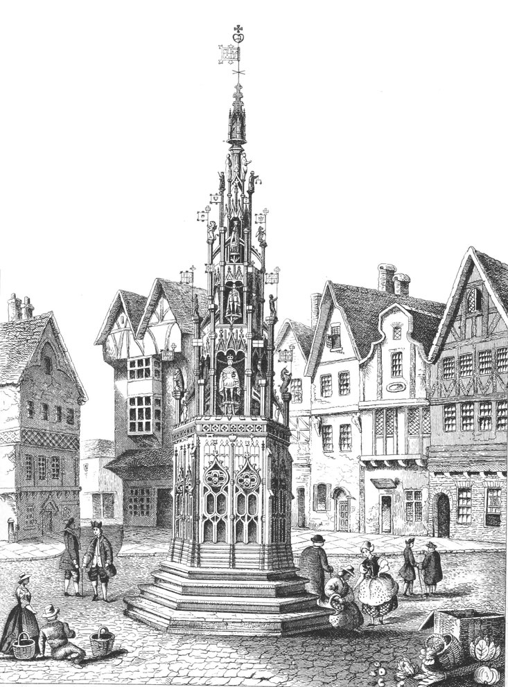 Coventry Cross Broadgate 1870
