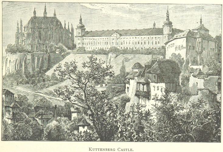 Kuttenberg Schloss in Böhmen