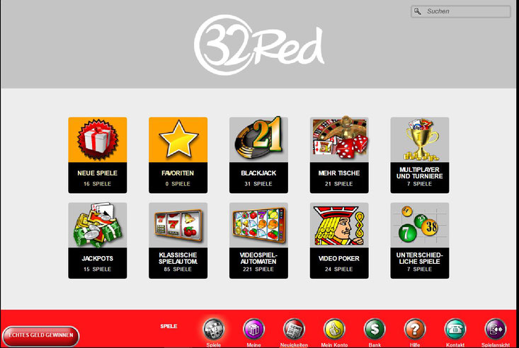 32Red Browser-Casino