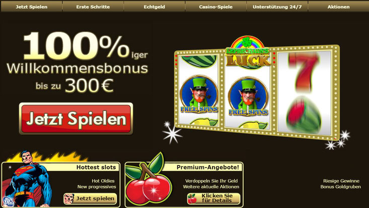 Casino Lobby von Casino-on-net