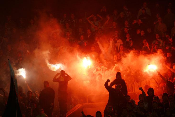 Pyrotechnik Fußballstadion; Detektei Erfurt, Detektiv Erfurt, Mitarbeiterüberwachung