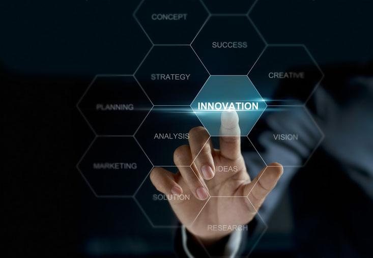 Innovation, Strategie, Ideen, Erfolge, Visionen