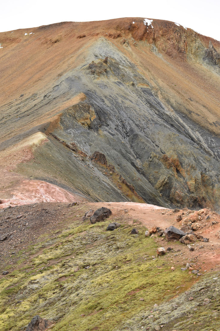Brennisteinsalda - the colourful mountain, Landmannalaugar short hikes