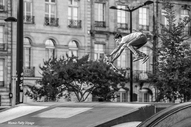 Skate board à Bordeaux