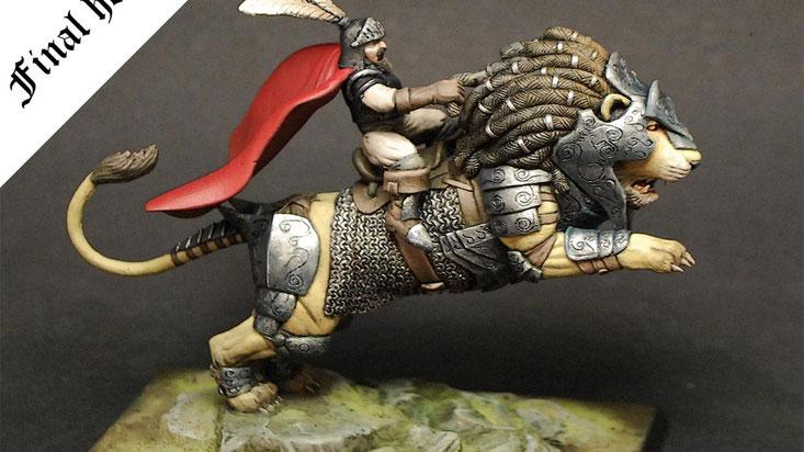 Shieldwolf miniatures Kickstarter campaign