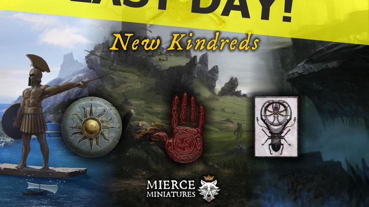 Mierce miniatures Kickstarter campaign