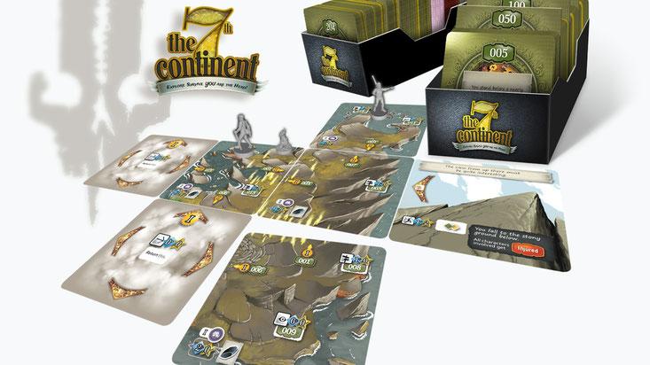 7th Continent Kickstarter campaign
