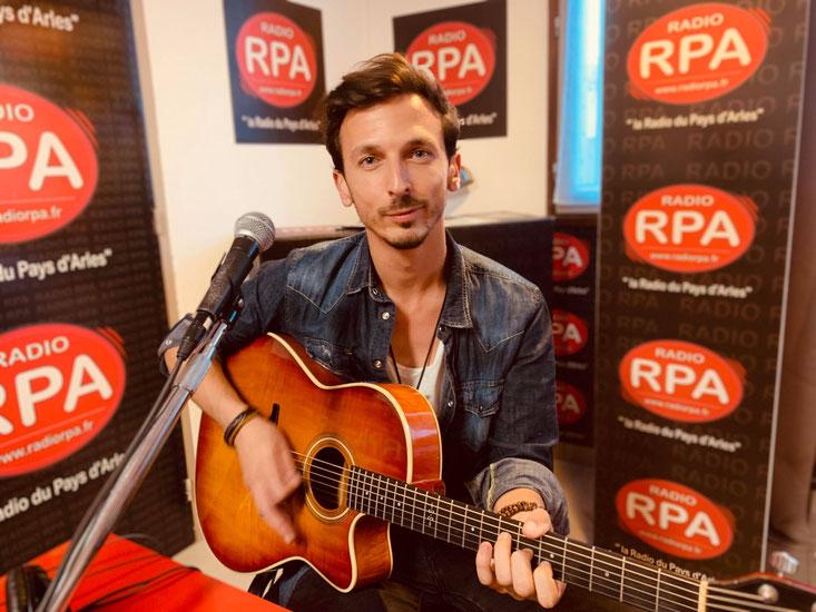 Geoffrey Black sur Radio RPA