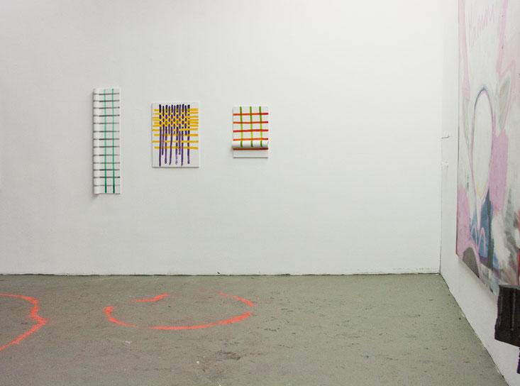 Ausstellungsansicht im Nordbecken, Karlsruhe 2019, Nathalie Franz und Alexander Suvorov