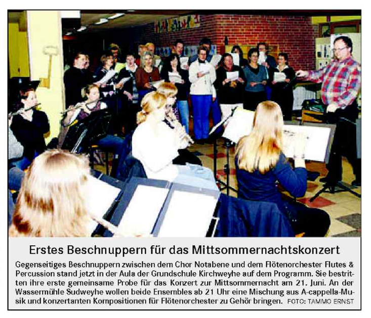 Weser-Kurier vom 15. 04. 2008