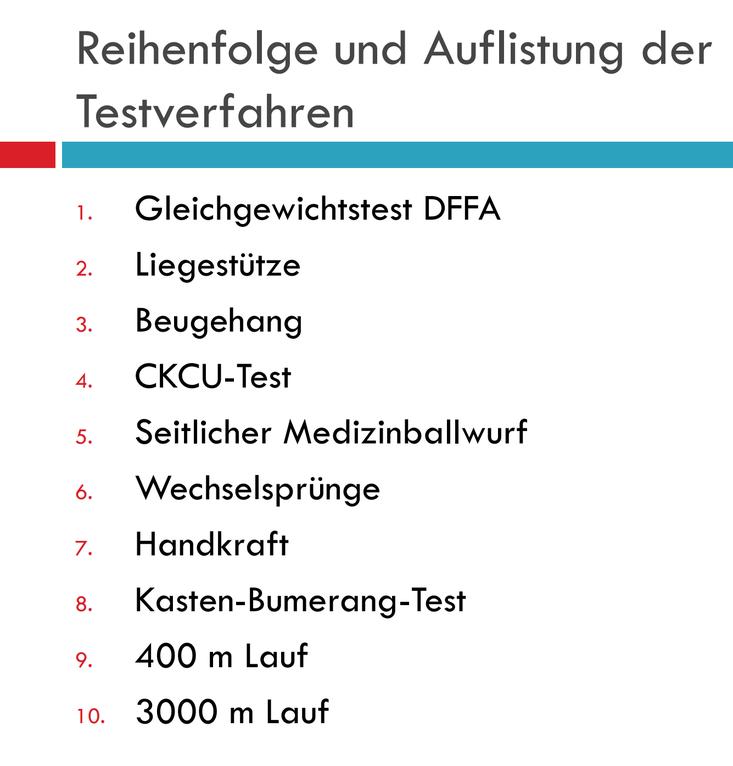德國消防員入職體能測試 (取自http://www.feuerwehr-luedenscheid.de/ 網站資料)