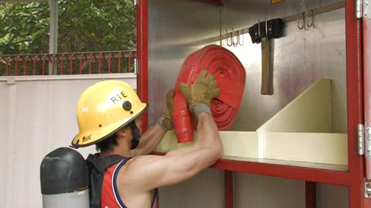 香港消防處的網站,有齊所有測試的影片,想報考的朋友,想要了解考試要求,十分容易