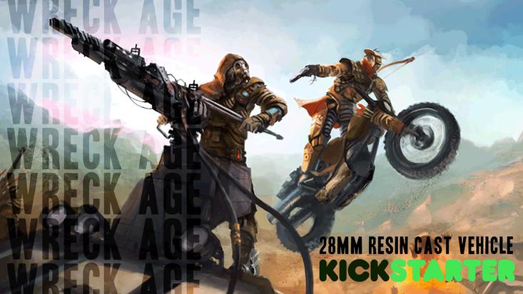 Wreck-Age Kickstarter campaign
