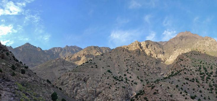 Hoher Atlas bei Tahaliouine