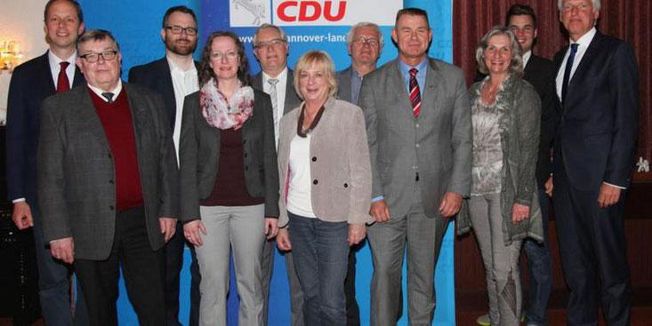 Der Vorstand des CDU-Stadtverbands ruft Garbsener auf, sich am Kommunalwahlprogramm zu beteiligen. Quelle: privat