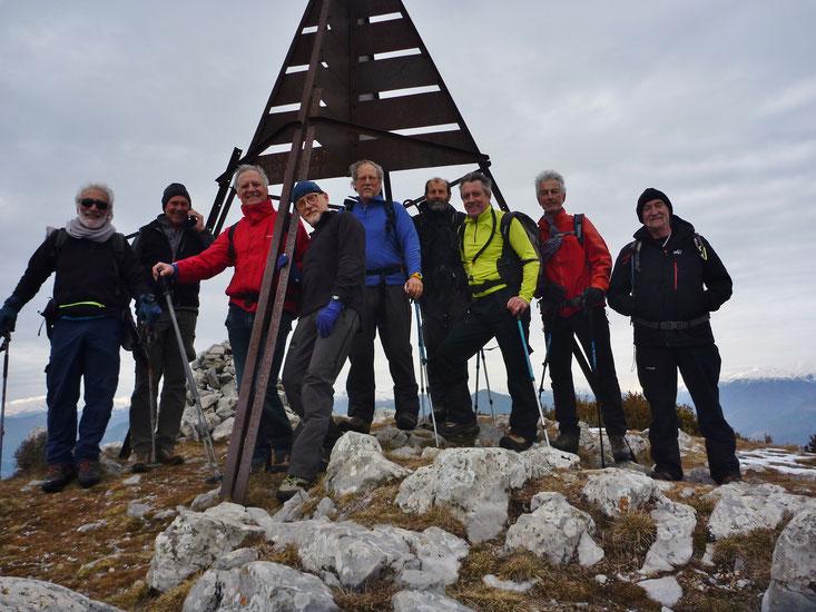 Sommet du Mt Vial (1550 m)