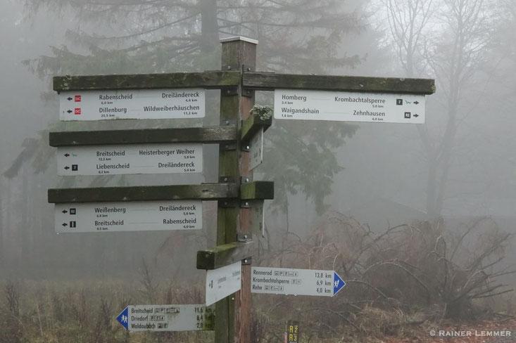 Fuchskaute Wanderwege