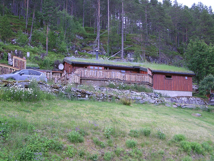 Unser echt luxuriöses Ferienhaus, direkt am Fjord!